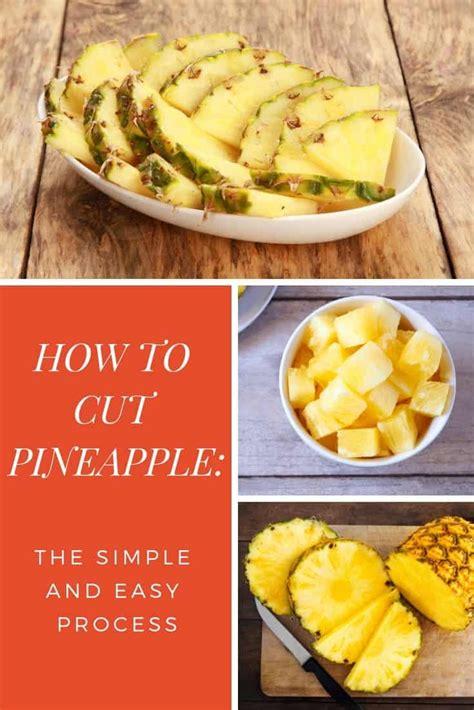 cut   pineapple  chunks  rings