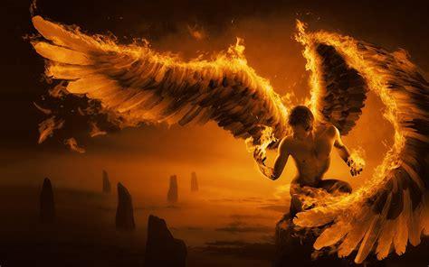 angel de fuego alegoriases