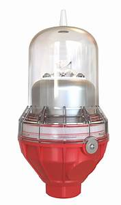 Red Obstruction Light 120 Volts Ac