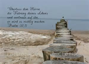 ermutigende sprüche christliche postkarte 96 psalm 37 5 gottes führung vertrauen meer bibel a la carte