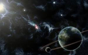 Space Scape Green Planet by Shoedude on deviantART