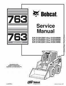 Bobcat 763 Skid Steer Service Manual 6