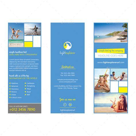 travel agency tri fold brochure vol  samiul