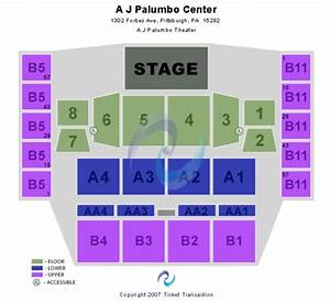 A J Palumbo Center Tickets In Pittsburgh Pennsylvania A J