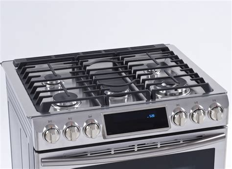 drop in electric ranges reviews samsung nx58h9500ws range consumer reports
