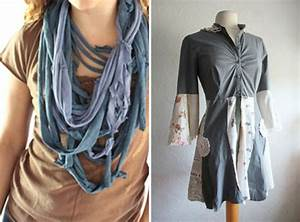 Upcycle old clothes - 24 ideas how to reuse T-shirts and