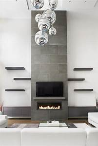 Best 25 contemporary fireplaces ideas on pinterest for Stylish options for fireplace tile ideas