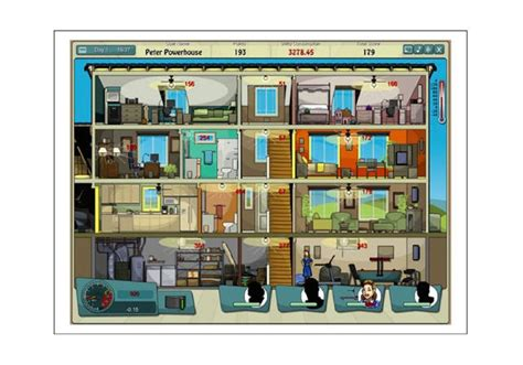 Facebook Game Power House Saves Energy And Money