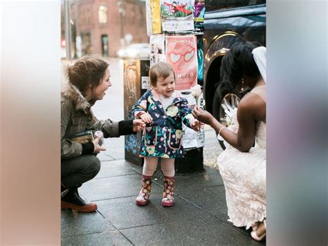 Toddler Thought Bride Was The Reallife 'princess' From