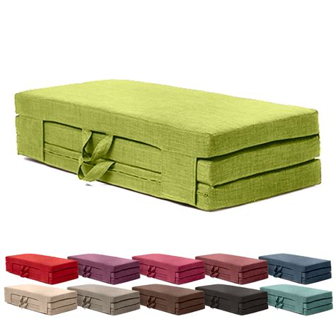 futon fold out bed fold out guest mattress foam bed single sizes