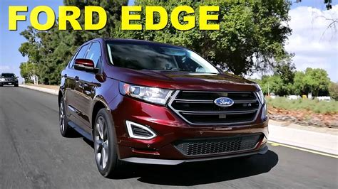 ford edge review  road test youtube
