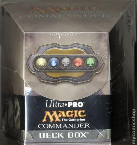magic the gathering commander deck box 2012 ultra pro