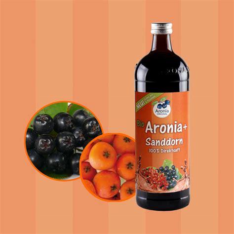 aronia sanddorn neue saftkombination bei aronia original