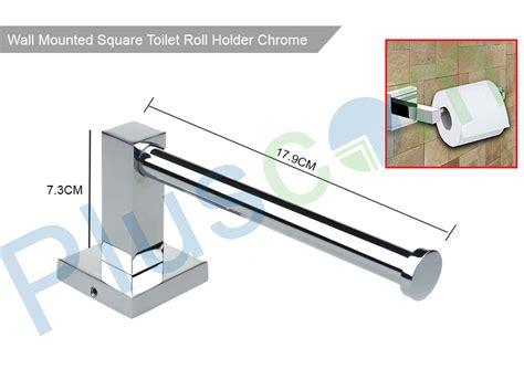 toilet roll holder square design bathroom square design chrome wall mounted tissue paper