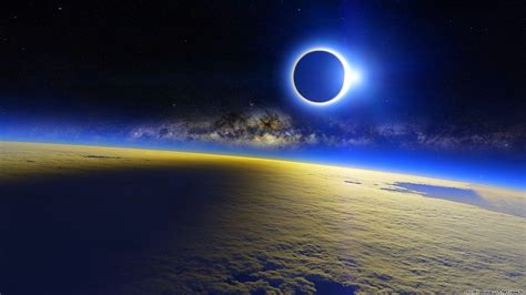 solar eclipse space atmosphere wallpapers hd desktop  mobile backgrounds