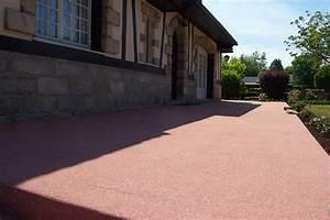 beton terrasse saint valery en caux terrasse beton With terrasse en beton colore