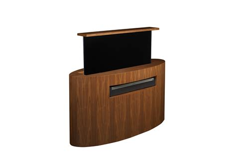 tv cabinet hidden tv lift custom tv lift atlantis oval tv lift cabinet tronix