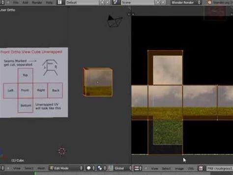 Blender 3D Tutorial - Best Way to UV Unwrap Cube & Make