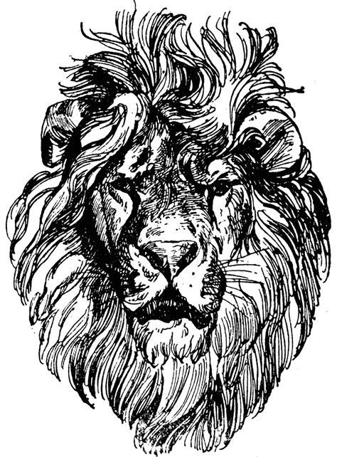 Lion Head   ClipArt ETC