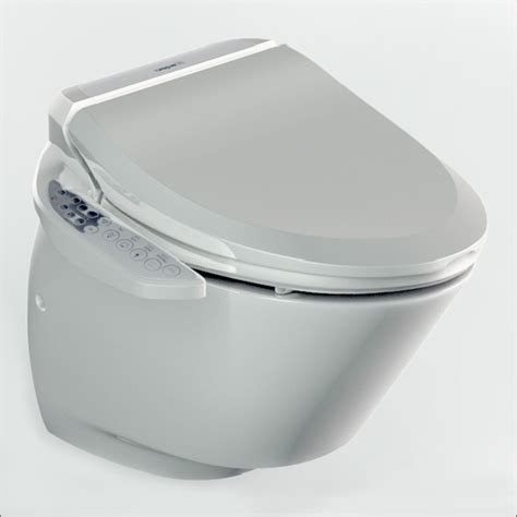 Bidet Toilet Combination by Nic6000 Electronic Bidet Seat And Wall Hung Toilet