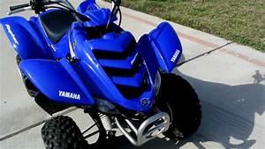 2005 Yamaha Raptor 50 Blue