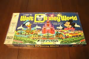 Walt Disney World Board Game