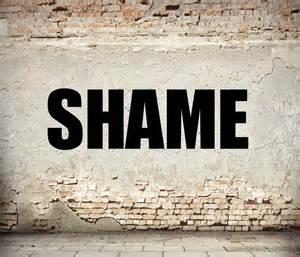Image result for images of shame