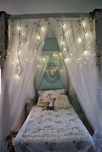 Fascinating, Canopy, Bed, Design, For, Teenage, Girl, Bedroom