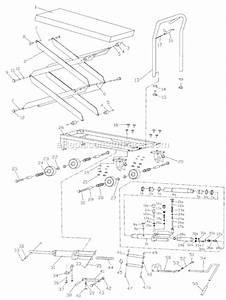 Jet Double Scissor Lift Table