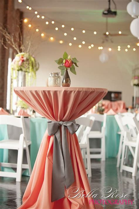 peach mint spring summer wedding color ideas page    puff