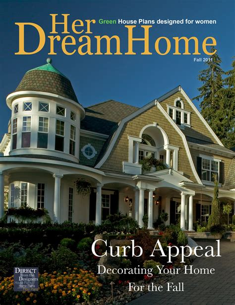 issue   dream home magazine  direct   designers house plans