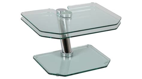 table basse de salon en verre trempe ezooq