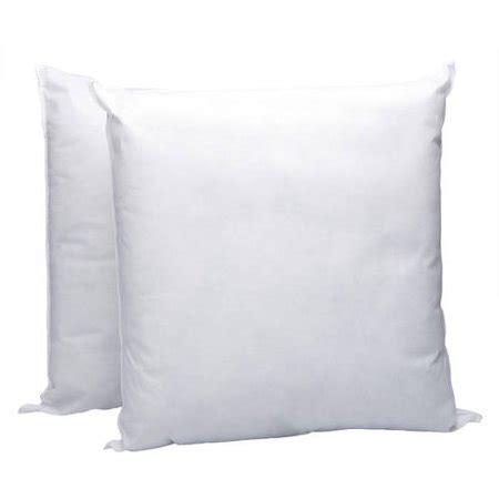 walmart pillow forms pellon homegoods decorative pillow insert 16 quot x 16 quot 2