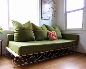 Diy Project Genevieves Platform Sofa DesignSponge
