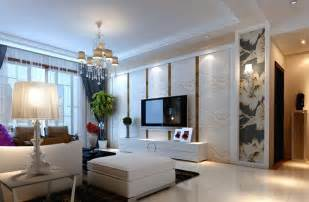 interior home design styles pastoral style white living room interior design 3d house
