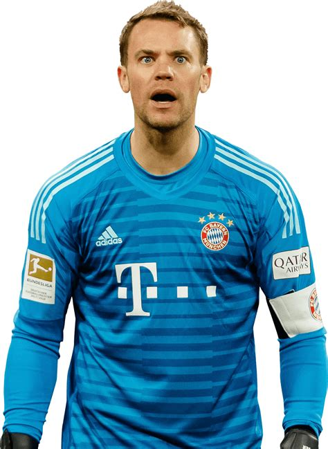 Manuel neuer is a german professional footballer who plays as a goalkeeper for and captains both bundesliga club bayern munich and the germany national team. Manuel Neuer football render - 51011 - FootyRenders