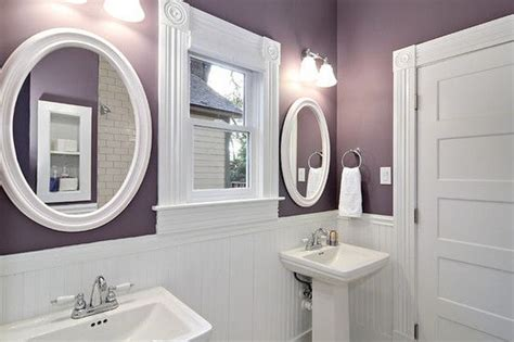 Purple Paint Colors For Bathrooms by Behr Vintage Grape For The Home Purple Bathrooms