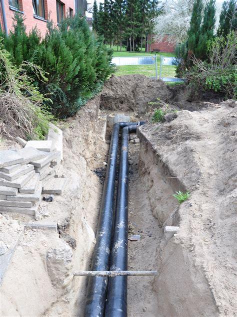 wasserleitung im garten verlegen wasseranschluss im garten kaltwasserleitung bauen de