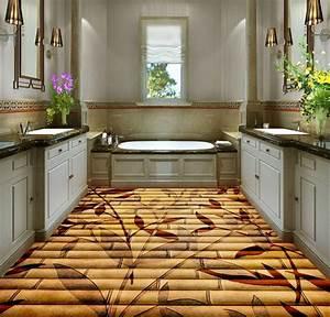 Pvc Bodenbelag Poco : 3d bodenbelag dekoration bambus blumen 3d boden pvc selbstklebende tapete ~ Watch28wear.com Haus und Dekorationen