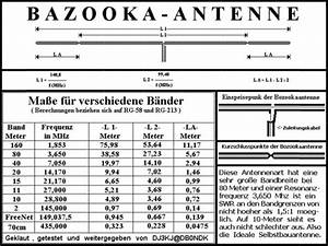 Bazooka Antenne Berechnen : antenne bazooka r alis e par 14zga56 christian ~ Themetempest.com Abrechnung