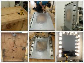 Make Your Own Vanity Mirror with Lights