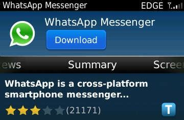 freeapp whatsapp messenger para blackberry blackberry magazine