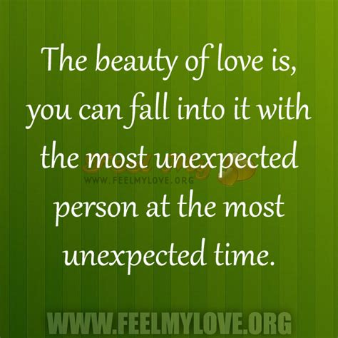 quotes  falling  love unexpectedly quotesgram