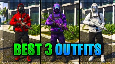 Top 3 Best TryHard u0026 RnG Modded Outfits In GTA 5 After Patch 1.40! (Best Clothing Glitches 1.40 ...