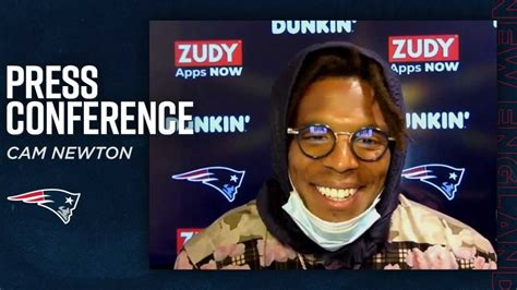 Cam Newton's First Press Conference as a New England ...