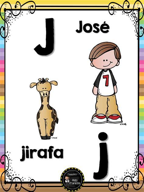 abecedario nombres propios 11 imagenes educativas