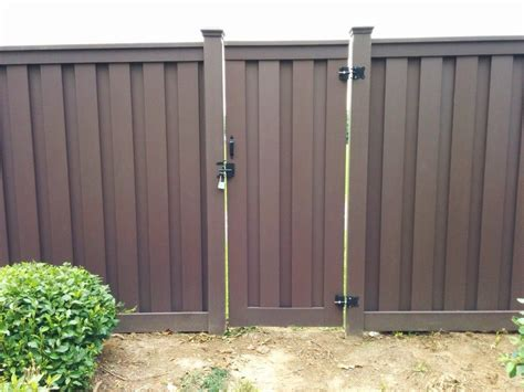 woodland brown archives trex fencing  composite