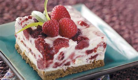 Frozen Desserts raspberry swirl frozen dessert recipe eggland s best