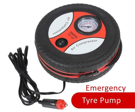 Portable Auto Car Tire Tyre Pump Inf (end 8/1/2019 12