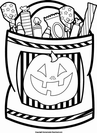 Trick Treat Halloween Candy Clipart Clip Bag